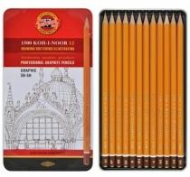 Zestaw ołówków Koh-I-Noor 5B-5H