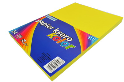 Papier ksero A4/100 80g Schemat kolorowy