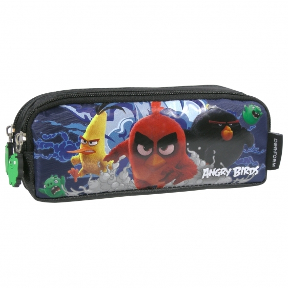 Piórnik saszetka dwukomorowa Angry Birds DZ/13 Derform