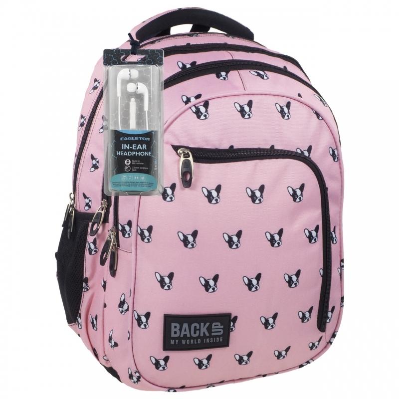 Plecak szkolny młodzieżowy BackUP model D17