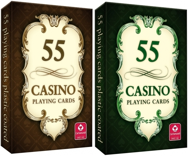 Karty do gry 55-list. Casino Cartamundi