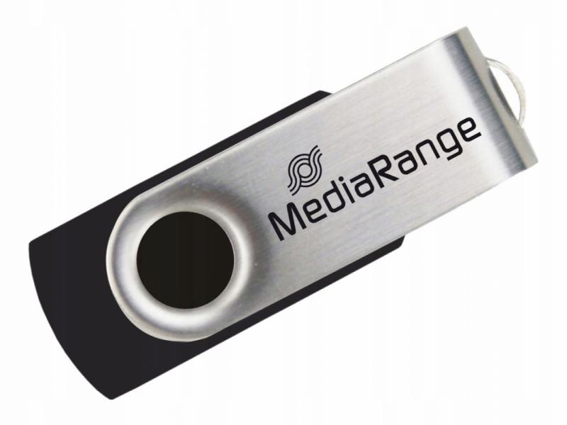 Pendrive 64GB Mediarange obracany