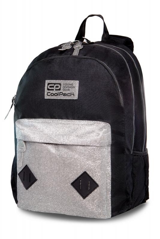 Plecak młodzieżowy Coolpack Hippie Silver Glitter