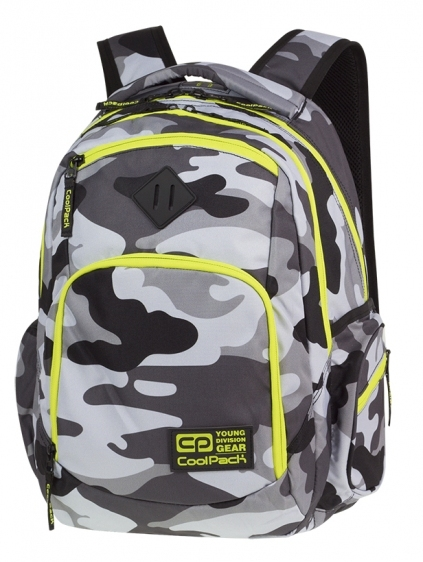 Plecak młodzieżowy Coolpack  Camo Yellow A365