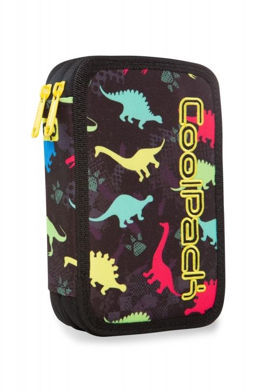 Piórnik podw.z wyp.Coolpack Jumper2 Dinosaurs Led