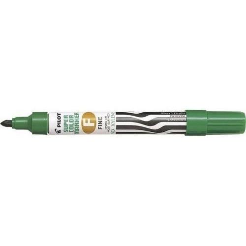 Marker olejowy Pilot grubość F zielony