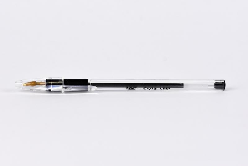 Długopis Cristal Grip 1mm czarny  BIC