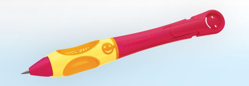 Ołówek Griffix czerwony Pelikan