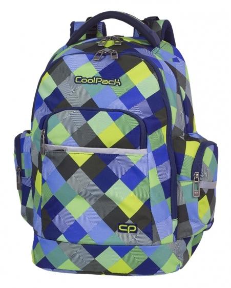 Plecak młodzieżowy  Coolpack Brick Blue Patchwork A497