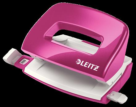 Dziurkacz biurowy Leitz Nexxt wow różowy metalik do 10 kartek