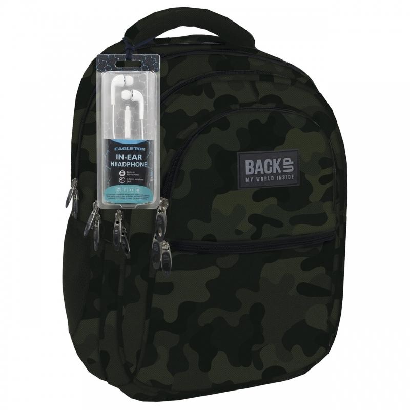 Plecak szkolny młodzieżowy BackUP model B54