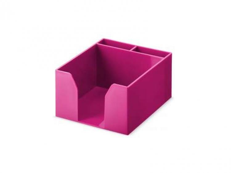 Pudełko przybornik na karteczki Versi-Color różowe