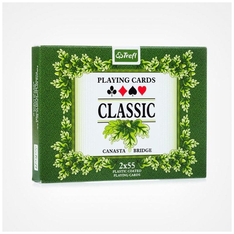 Gry karty 2 talie Classic Trefl