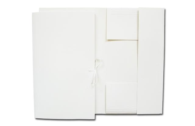 Teczka wiązana papierowa LUX A4 250g