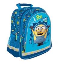 Plecak szkolny niebieski Minionki 1642