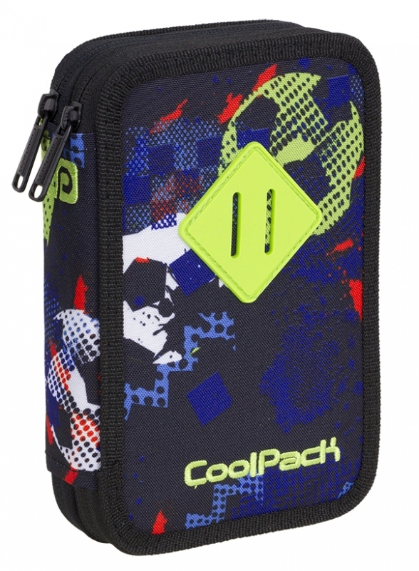 Piórnik podwójny z wyp. Coolpack Jumper2 A435
