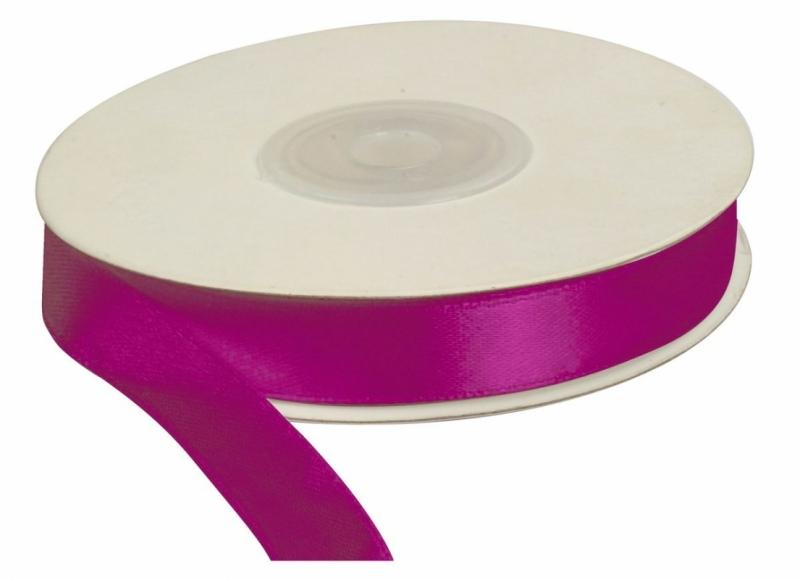 Wstążka satynowa purpura 12mm/25m TITANUM