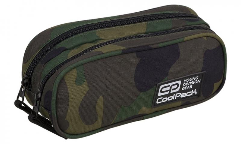 Saszetka podwójna Coolpack Clever Camouflage A390