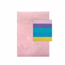 Filc poliestrowy A4 5 pastelowych kolorów Dalprint