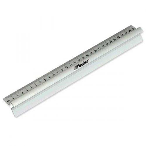 Linijka aluminiowa z uchwytem30cm Leniar