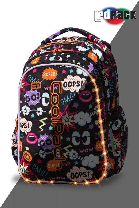 Plecak młodzieżowy Coolpack Joy M Comics Led