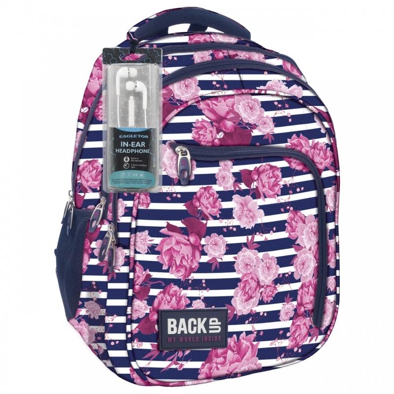 Plecak szkolny młodzieżowy BackUP model D34