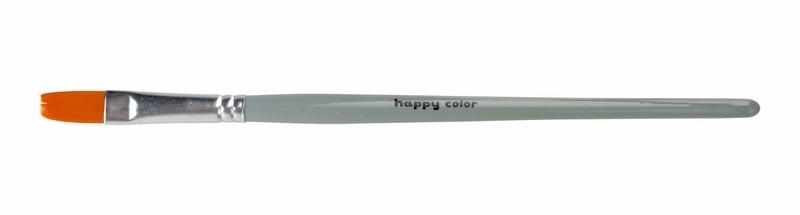 Pędzel płaski nr18 hobbystyczny syntetyk Happy Col