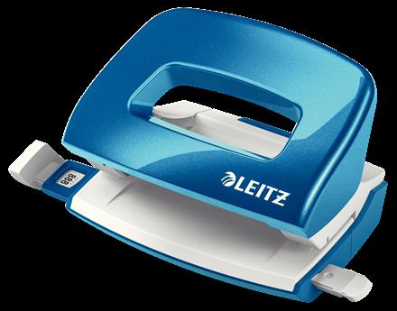 Dziurkacz biurowy Leitz Nexxt wow niebieski metalik do 10 kartek