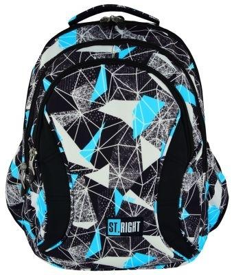 Plecak młodzieżowy St.Right Net Blue  BP2