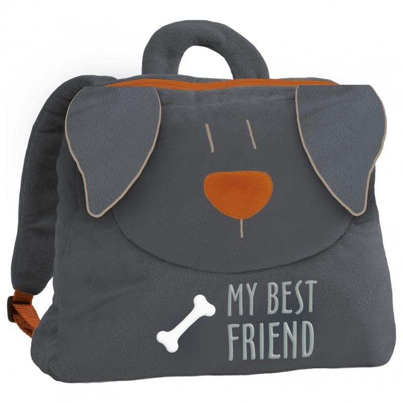 Plecak pluszowy Pies