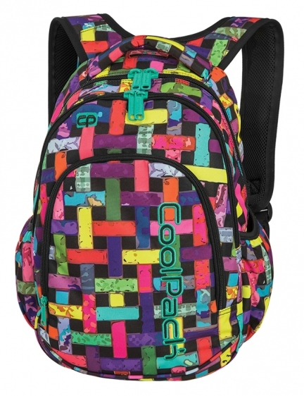 Plecak młodzieżowy Coolpack Prime Ribbon Grid A297