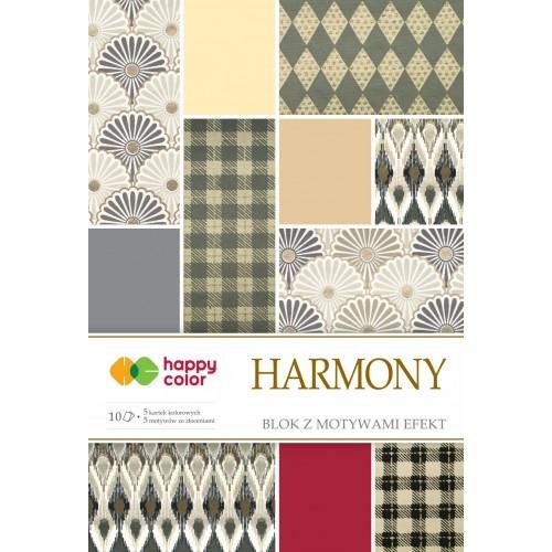 Happy Color blok z motywem Harmony A4 10 ark
