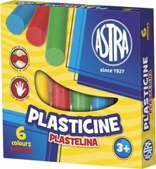Plastelina Astra 6 kolorów
