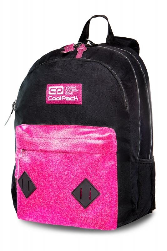 Plecak młodzieżowy Coolpack Hippie Pink Glitter