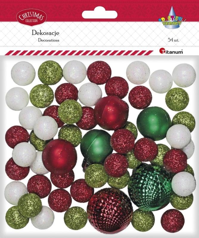 Zestaw dekoracyjny świąteczny Xmas
