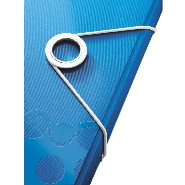 Teczka 6 przegródek Leitz wow A4 niebieska 250k