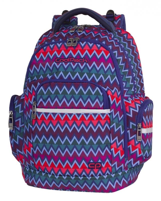 Plecak młodzieżowy Coolpack Brick Chevron Stripes A527
