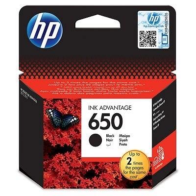 Tusz HP nr 650 czarny CZ101AE