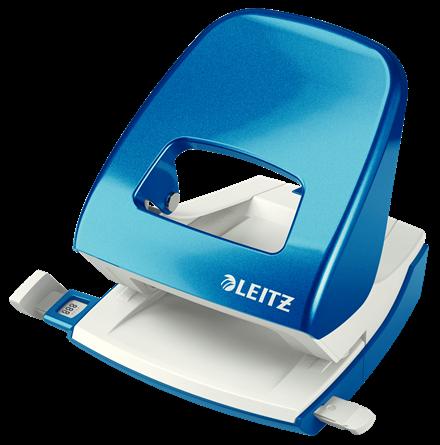 Dziurkacz biurowy Leitz 5008 Nexxt Wow 30 kartek jasnoniebieski