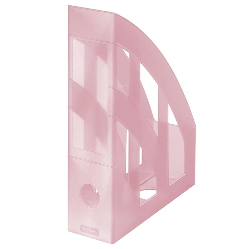 Pojemnik na dokumenty plas.pastel różowy Herlitz