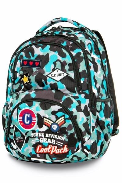 Plecak młodzieżowy CoolPack Dart L Camo Blue
