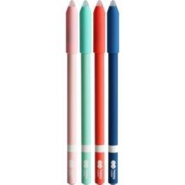 Długopis wymazywalny 0,5mm niebieski Trendy Happy