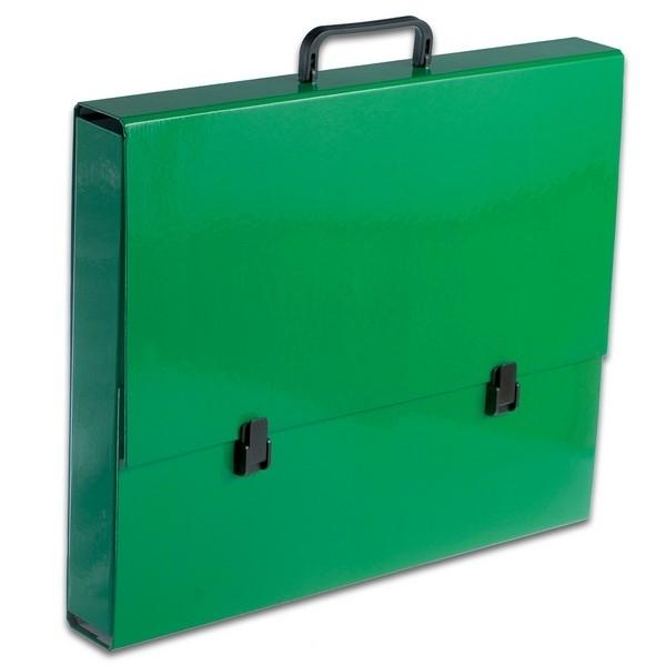 Teczka z rączką A3 zielona pastelowa Tadeo