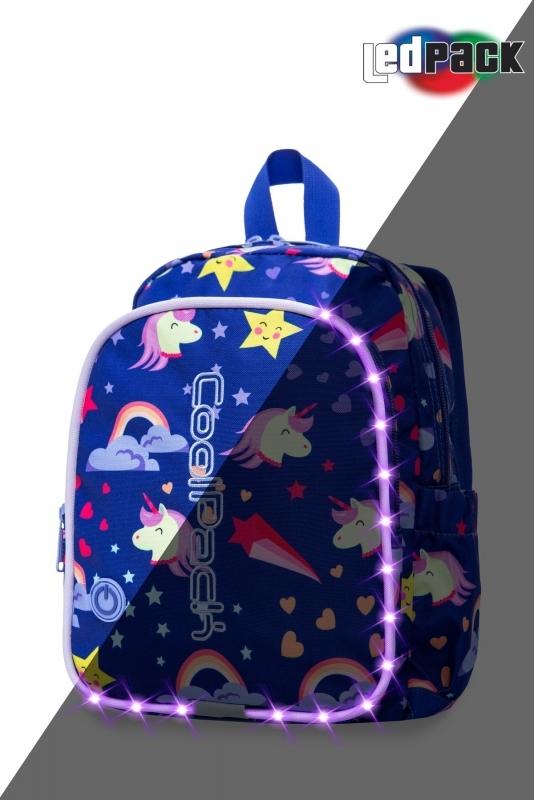 Plecak dziecięcy Coolpack Bobby Unicorns Led