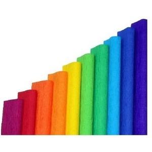 Krepa bibuła marszczona 10 kolorów Spectrum